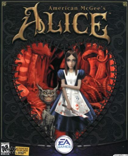 Alice box art with Vorpal blade