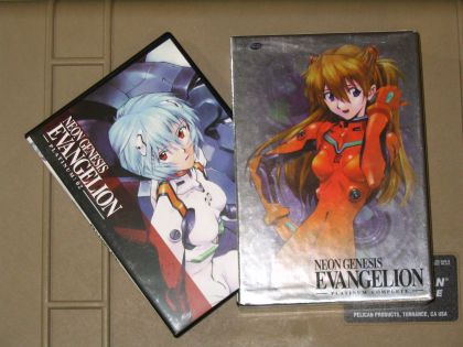 Evangelion Platinum Edition DVDs