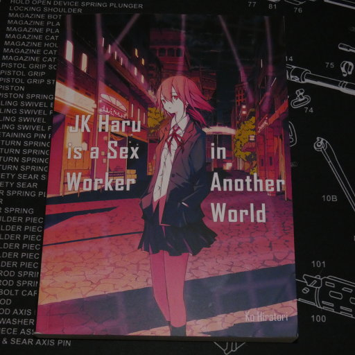 Front cover: JK Haru is a Sex Worker in Another World