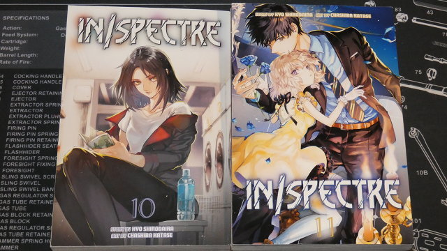 In/Spectre volumes 10 and 11