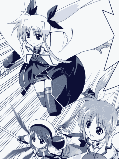 Thumbnail image of Fate, Hayate, and Nanoha