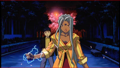 Keiichi and Urd