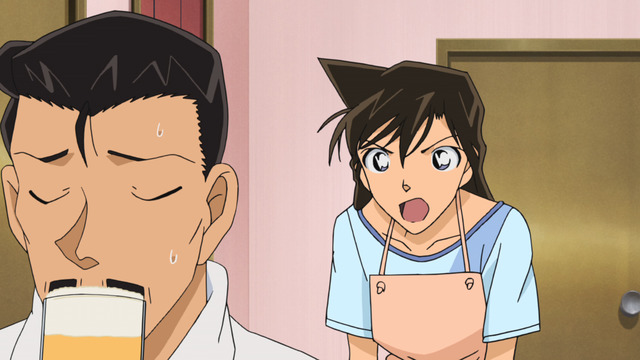 Kogoro and Ran