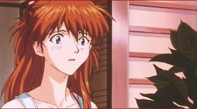 Asuka reacting to Shinji's news