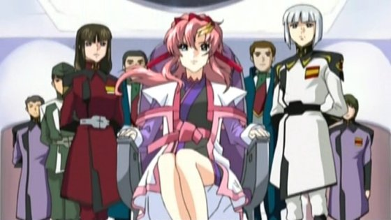 Shiho, Lacus, and Yzak