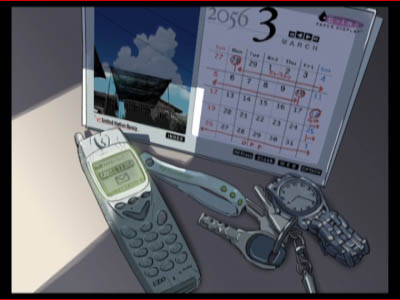 The older Noboru's cell phone