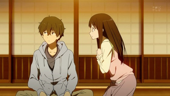 Houtarou and Chitanda
