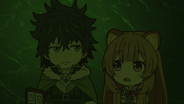Naofumi and Raphtalia