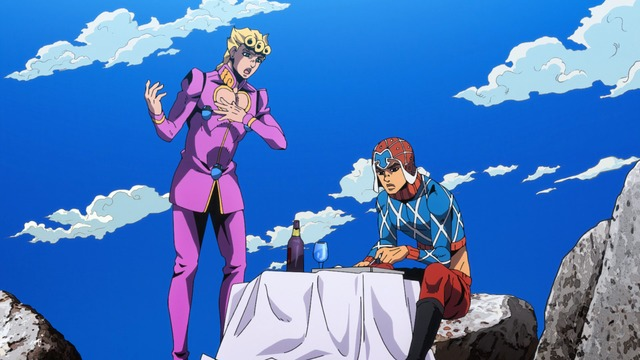 Giorno and Guido