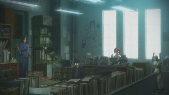 Tohko's wall-to-wall clutter