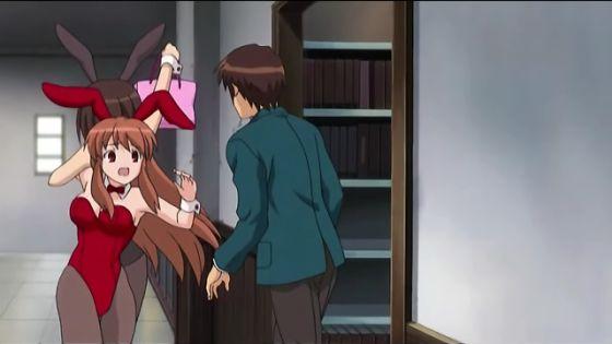 Suzumiya Haruhi no Yuutsu: El anhelo de un nuevo mundo  Haruhiasahinakyon0301