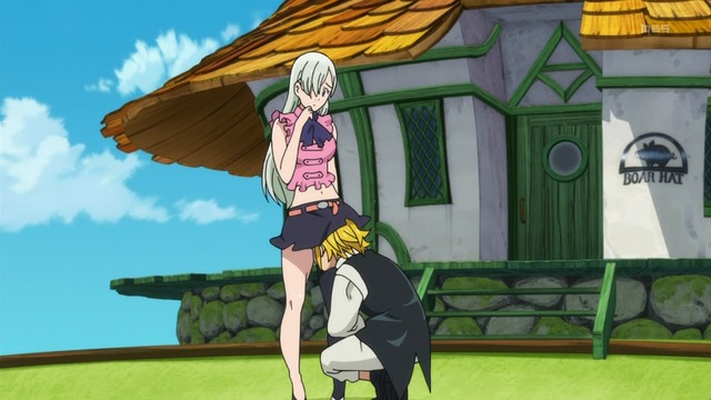 Elizabeth and Meliodas