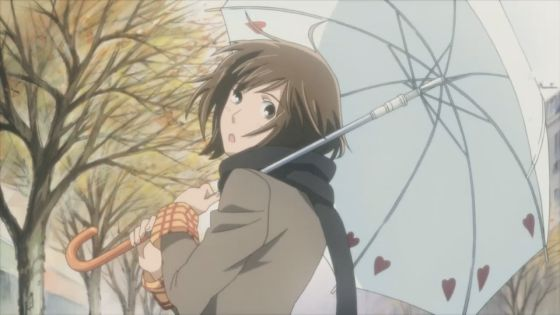 Nodame's umbrella