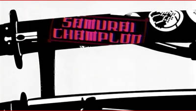 Samurai Champloo title screen
